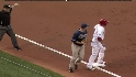 Victorino leads a double steal