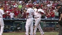 Howard&#039;s two-run homer