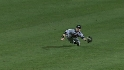 McLouth's diving catch