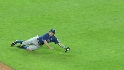 Kinsler&#039;s diving stop