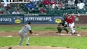 Young&#039;s two-run shot