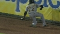 McCutchen's sliding catch