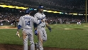 Dodgers' five-run fourth