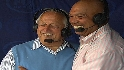 Reggie, Lasorda visit booth