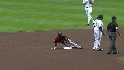 Bourn escapes a rundown