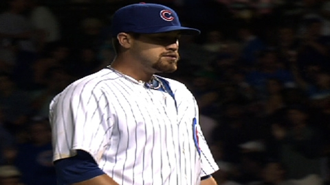 Schlitter claims final spot in Cubs' bullpen