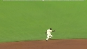 Renteria's leaping catch