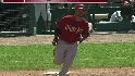 Young&#039;s two-run homer