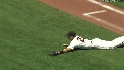Posey's diving catch
