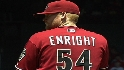 Enright wins in MLB debut