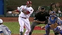 Abreu's RBI double