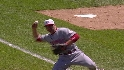 Votto flashes the leather