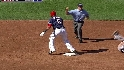 Wright nails Desmond at second
