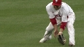 Victorino's shoestring catch