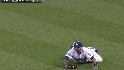 Ethier's tough grab