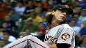Lincecum strikes out 10