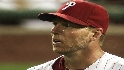 Halladay strikes out nine