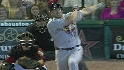 Holliday&#039;s three-run blast
