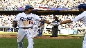 Dodgers' three-run rally