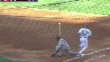 Hanley completes double play