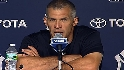 Girardi on Old Timers' Day