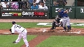 Kinsler&#039;s two-run homer