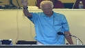 Fans welcome back Uecker