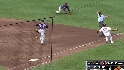 Izturis' two-run infield single