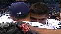 Rays on Garza's no-hitter