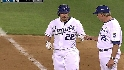 Podsednik's RBI single