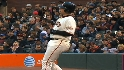 Buster Posey&#039;s hitting streak