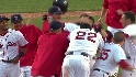 Ortiz's walk-off double