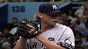 Wood's debut with the Yankees