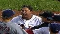 Red Sox, Indians benches clear