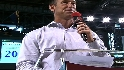 Gonzalez honored by D-Backs