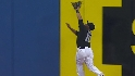 Wells' leaping catch