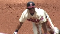 Brantley's leadoff triple