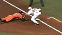 Shields picks off Markakis