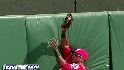 Borbon's great catch