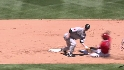Arencibia throws out Aybar