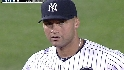 Jeter snaps errorless streak
