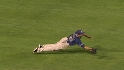 Venable's diving catch