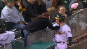 A's ballboy talks to Network