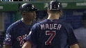 Mauer spoils a no-no