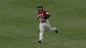 Bourn's running catch