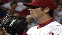 Hamels&#039; eight strikeouts