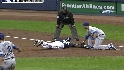 Kuroda picks off Cain