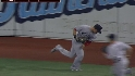 Kalish's diving catch