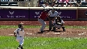 Bourn's RBI infield single