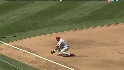 Polanco&#039;s strong throw